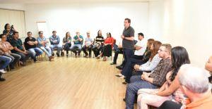 Gervásio participa de reunião com lideranças em Campina Grande