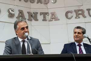 Na OAB, Lucélio diz que vai qualificar serviço oferecido à população com novos concursos