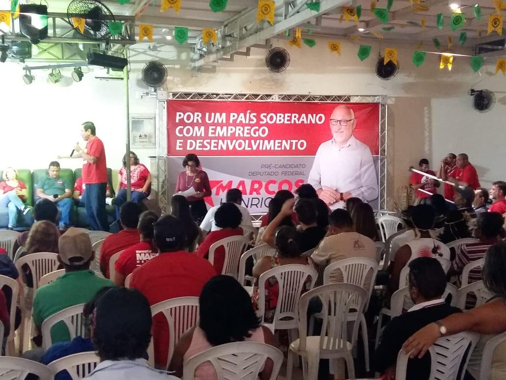 Nem um nem outro: PT pode lançar Marcos Henrique para Câmara Federal no lugar de Couto