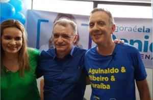 """""""Estamos vivendo um momento ímpar para a Paraíba e nosso partido sai na frente"""" destaca Aguinaldo em convenção do PP"""