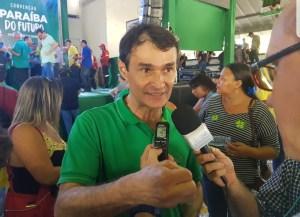 """Romero acredita que JP e CG darão vitória a Lucélio: """"Eu acredito que venceremos com mais de 60% em CG"""""""