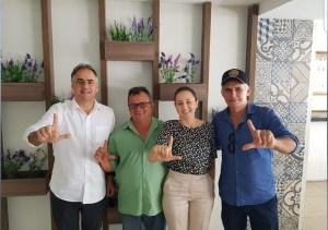 ADESÕES: Prefeito e vice de Olivedos anunciam apoio a Lucélio e Micheline