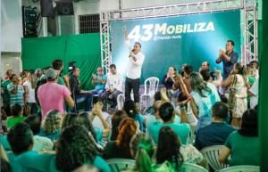 """""""O modelo de gestão humanizada de João Pessoa será levado para toda Paraíba"""", disse Lucélio em plenária"""