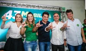 Mesmo fora da chapa majoritária, Manoel Júnior se incorpora à campanha de Lucélio Cartaxo