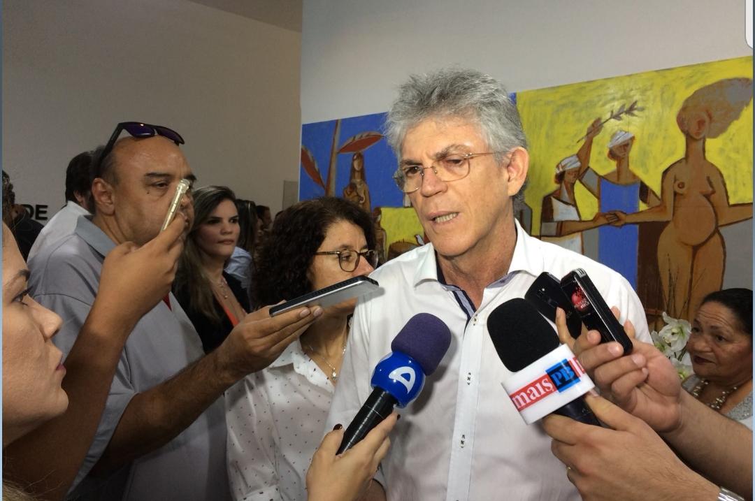 """""""A oposição não tem o que dizer contra o governo"""", dispara Ricardo Coutinho"""