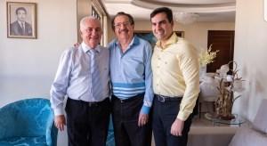 José Lacerda Neto anuncia apoio às candidaturas de Eitel Santiago e Lucas de Brito