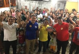 Conquistando apoio: Lindolfo Pires cumpre agenda em João Pessoa e Sapé
