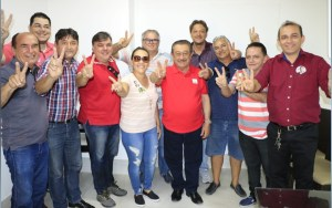 Em Patos, vereadores anunciam apoio à candidatura de Zé Maranhão