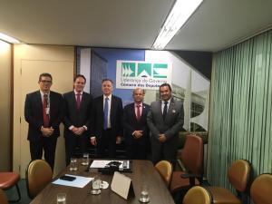 Aguinaldo recebe representantes da PRF em Brasília e consegue que MP seja apreciada e aprovada na Câmara Federal