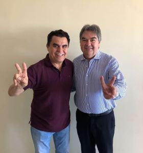 Fábio Tyrone e deputado Lindolfo Pires reafirmam parceria com Wilson Santiago