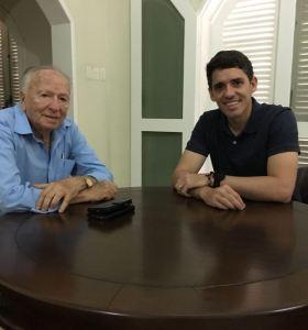 Tovar se reúne com Enivaldo Ribeiro e destaca parceria administrativa e política