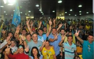 """""""Gestor precisa cuidar primeiro das pessoas. Isso Lucélio vai fazer"""", disse presidente do PV em evento na Capital"""