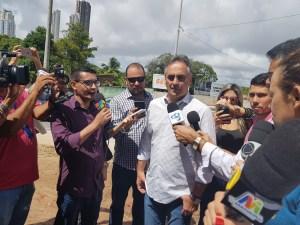 """Ao inaugurar Nova Beira Rio, Cartaxo alfineta Ricardo: """"Alguns não tiveram coragem, mas nós resolvemos os grandes desafios da cidade"""""""