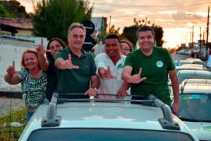 """""""Lucélio representa o novo e vai fazer as mudanças que a Paraíba precisa na segurança pública"""", afirma presidente do PV"""