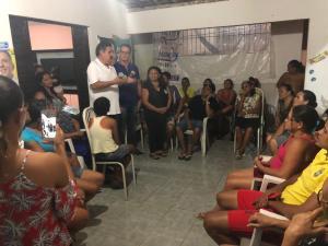 """Marcos Vinícius e Arnaldo """"arregaçam as mangas""""em JP e mobilizam vários Bairros defendendo Lucélio Cartaxo"""