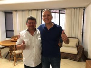 REFORÇO: Ex-prefeito de Gurinhém é mais um a abraçar reeleição de Aguinaldo Ribeiro para deputado federal
