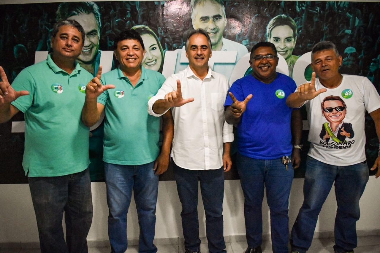 MAIS APOIOS: Vereador e suplentes do MDB aderem à campanha de Lucélio Cartaxo