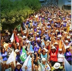 Galego Souza arrasta multidão em São Bento e recebe apoios em Vista Serrana e Riacho dos Cavalos