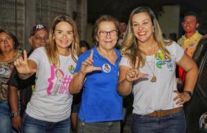 """Em Guarabira: """"Daniella tem trabalho e compromisso com a Paraíba"""", diz Camila Toscano"""
