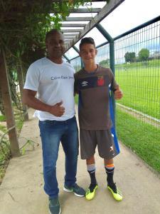 Clube carioca testa talento descoberto em projeto Campeões do Futuro, de Santa Rita