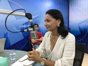 Primeira Dama da Capital destaca importância de Feira Internacional de Economia Criativa