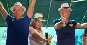 Aguinaldo e Daniella Ribeiro parabenizam ex-prefeito de São Bento, Gemilton Souza pelo seu aniversário