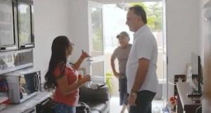 Luciano visita Novo São José, recebe agradecimentos e transmite mensagem de Natal