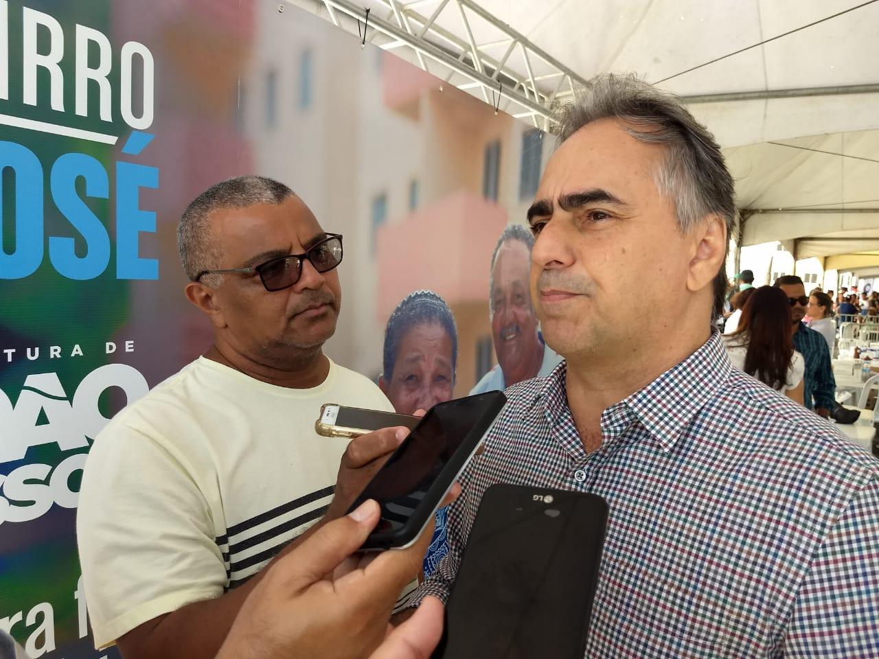 """Lucélio Cartaxo sobre o secretariado de João Azevêdo: """"a gente tá vendo que não é um governo novo """""""