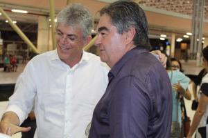 Ricardo Coutinho agradece a Lindolfo Pires contribuição e dedicação durante seus dois mandatos
