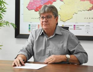 Mesmo com intervenção na Cruz Vermelha, João fala em eficiência e diz que vai ampliar OS's na PB