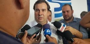 """Após café da manhã com bancada federal, Rodrigo Maia sentencia: """"Paraibano vota em paraibano"""""""
