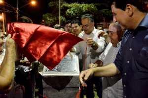 Cartaxo entrega nova praça no Geisel e oferece mais um espaço público de lazer e convivência para a população