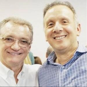 Galego Souza parabeniza deputado federal Aguinaldo Ribeiro pela passagem do seu aniversário