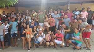 Durante recesso de Carnaval, deputado Galego Souza visita bases no interior da Paraíba