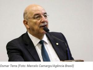 Ministro da Cidadania, Osmar Terra, visita Campina Grande nesta terça-feira