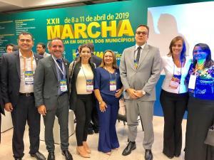 Secretária Ana Cláudia participa de eventos em Brasilia e na Paraíba fortalecendo a articulação com os Municípios