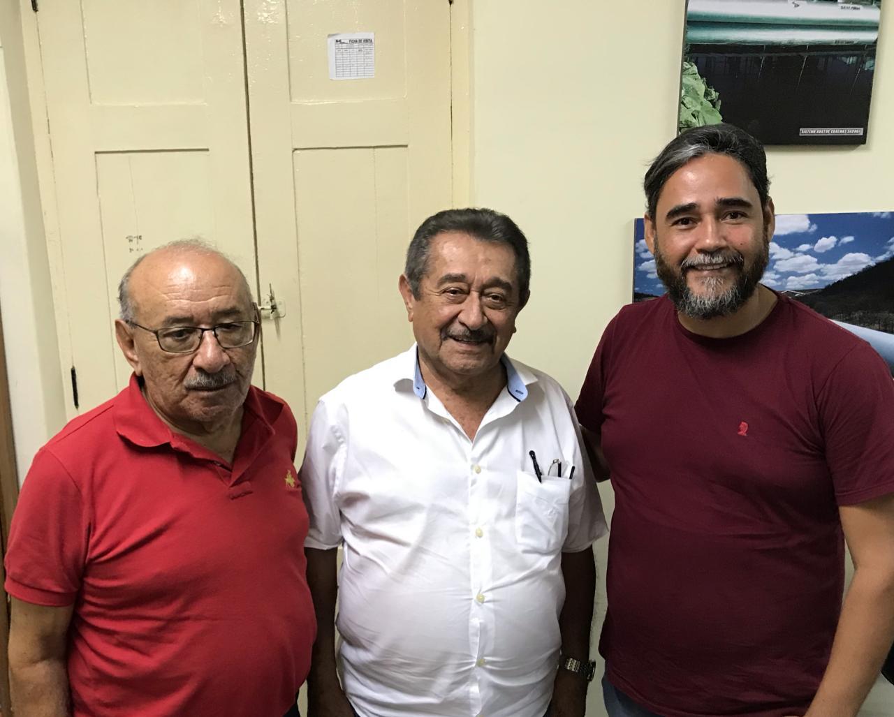 De olho em 2020, Maranhão passa comando do Diretório do MDB de Bayeux para Exepedito Pereira