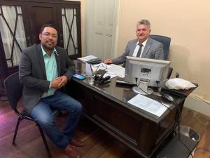 Jefferson Kita articula com João Gonçalves e garante obras e serviços do Governo do Estado para Bayeux