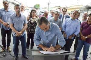 Luciano Cartaxo autoriza início de obras para requalificação da Ciclovia da Avenida Pedro II e implantação do programa LED nas Ruas