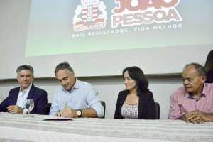 Luciano Cartaxo assina termo de cooperação com o Programa Educação Pra Valer para ampliar resultados do 'Geração Alfabetizada'
