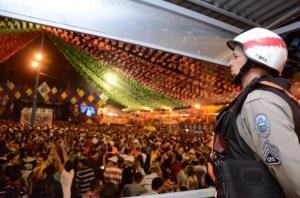 São João 2019: homicídios caem 70% e governador agradece a forças de segurança