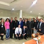 Em clima de harmonia, deputados realizam almoço de confraternização para comemorar resultados do primeiro semestre Legislativo; veja imagens