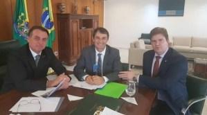 Romero é recebido novamente por Bolsonaro, acerta a inauguração do Conjunto Aluízio Campos e recebe apoio para instalação do VLT em CG