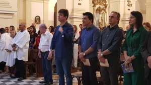 Ruy participa de celebração na Catedral durante abertura da Festa das Neves