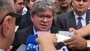 João reage ao G-11 e diz que não vai aceitar divisão na base governista