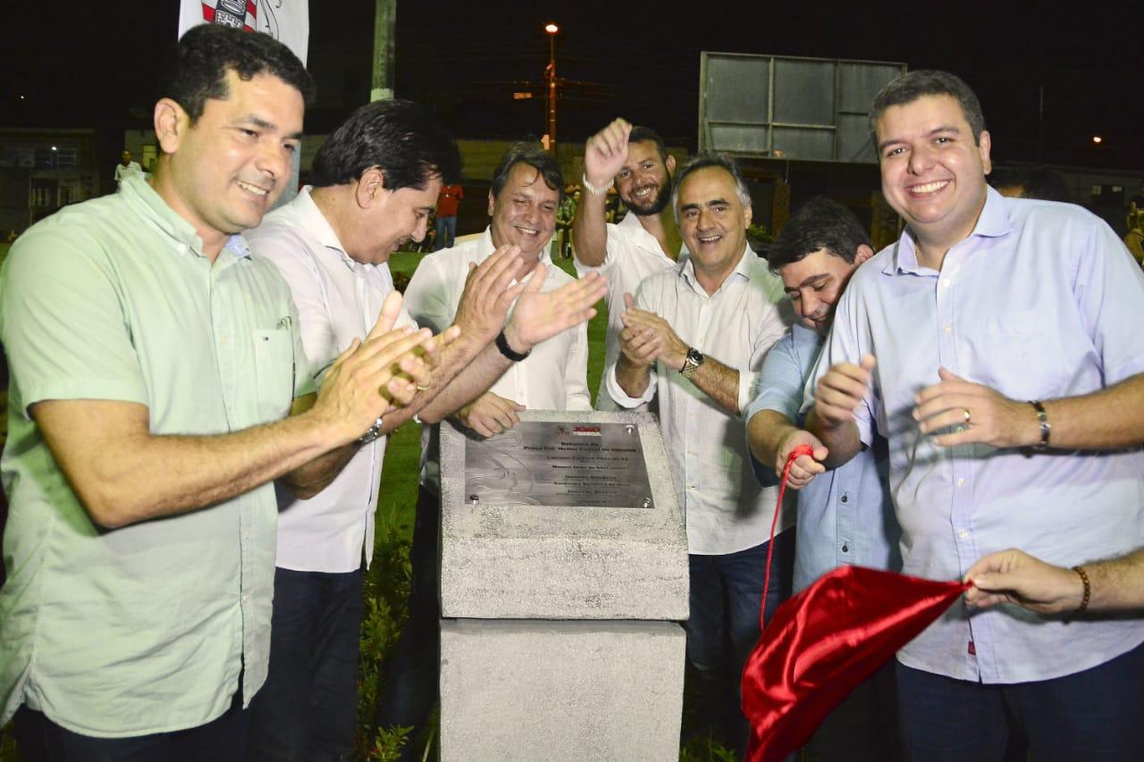 Luciano Cartaxo entrega Praça Heitor Cabral no Castelo Branco e gestão chega à marca de 50 equipamentos de lazer na Capital