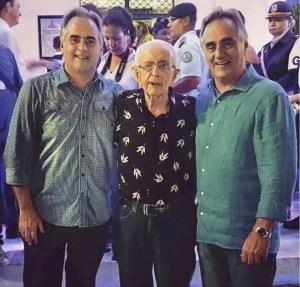 Luciano Cartaxo lamenta morte de tio, que foi prefeito de Sousa e deputado estadual