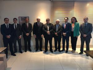 João Azevêdo recebe diretorias da Anape/Aspas e trata de pleitos de interesse dos procuradores do Estado da Paraíba