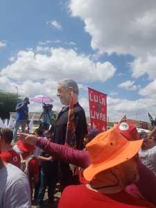 """PALANQUE POLÍTICO: """"Lula Livre"""" é a principal bandeira de ato público em Monteiro"""