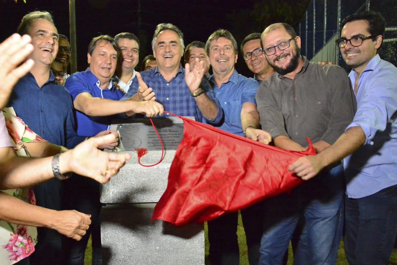 Cartaxo entrega praça no Brisamar e soma 52 espaços de lazer entregues desde 2013 entre novos e reformados